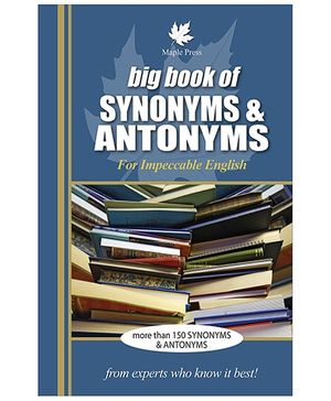 Big Book of Synonyms and Antonyms - English
