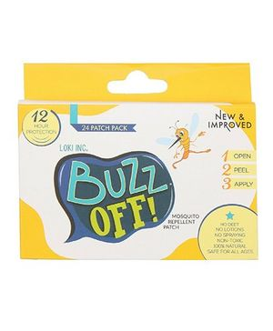 Buzz Off! Mosquito Repellent Patch - Pack Of 20 Patches