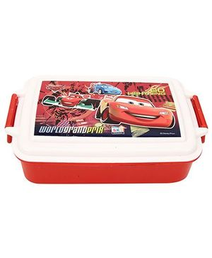 Disney Pixar Car Nuddy Lunch Box - Red & White