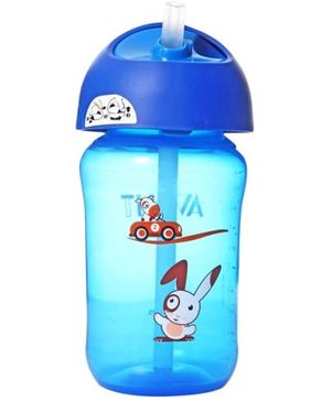 Avent Straw Cup Blue 340 ml