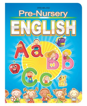 Pre-Nursery Book - English