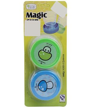 Magic Cups Pack Of 2 - Green Blue