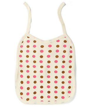 Babyhug Printed Bibs Set of 2 - Pink And Yellow