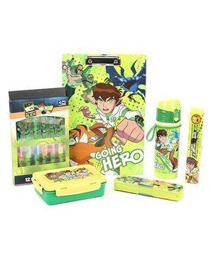 Ben 10 School Kit Set of 6 - Green