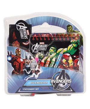 Avengers Coloring Stationary Set