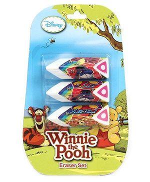 Disney Winnie The Pooh Erasers - Set of 3