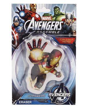 Marvel Avengers Iron man Eraser - Red