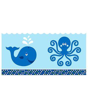 Ocean Preppy Table Cover - Blue