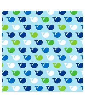 Ocean Preppy Lunch Napkins - Blue