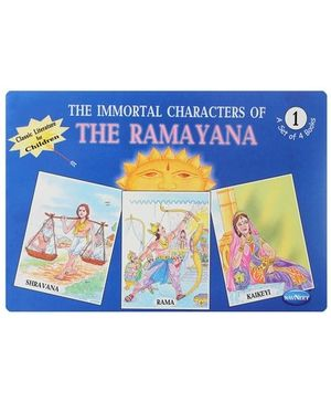 Navneet - The Immortal Characters of The Ramayana Book 1