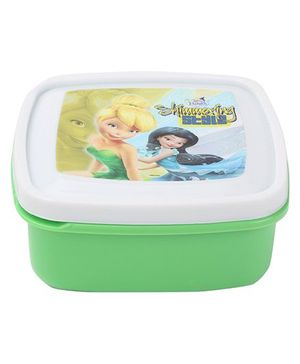 Cello Homeware Disney Fairies Print Container - Green
