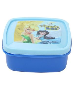 Cello Homeware Shimmering Disney Fairies Print Container - Blue