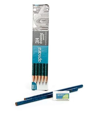 Apsara 3H Grade Pencils - Pack Of 10
