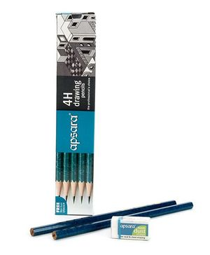 Apsara 4H Grade Pencils - Pack Of 10
