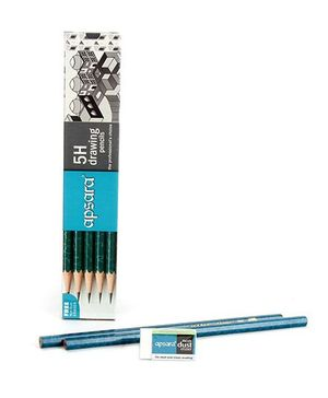 Apsara 5H Grade Pencils - Pack of 10