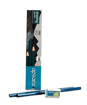 Apsara 10B Grade Graphite Pencils - Pack of 10