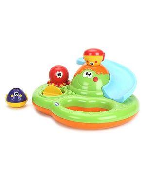 Chicco Bubble Island Bath Toy - Multicolor