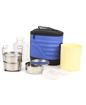 Cello Homeware Archo 3 Lunch Box Kit With Bag - Blue