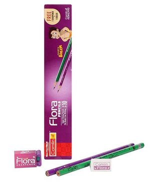 Camlin Flora Pencils Chhota Bheem Print - 10 Pieces
