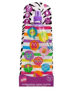 3C4G Multi Design Water Bottle - Multicolour