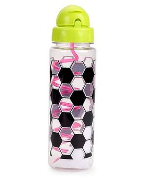 3C4G Soccer Print Sport Bottle - Multicolour