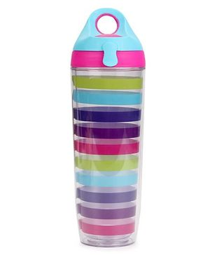 3C4G Lining Print Sport Bottle - Multicolour