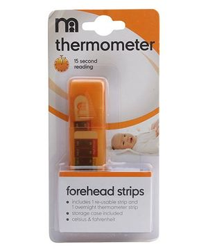 Mothercare Forehead Thermometer Strips - Pack of 2