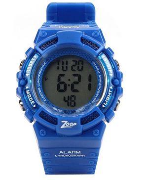 Titan Zoop Round Shaped Digital Watch - Blue