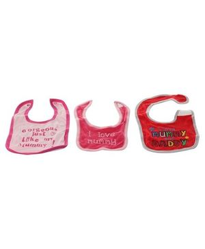 Baby Bibs - I love Mummy & Daddy