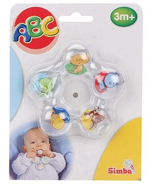 ABC Star Shape Water Filled Teether (Design May Vary)