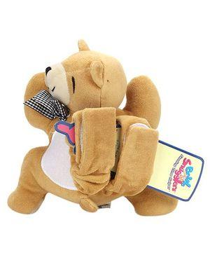 Bottle Snugglers Feeding Time Helpers - Charming Teddy Bear