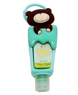 Li'll Pumpkins Teddy Sanitizer - Sea Green