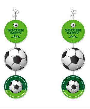 Prettyurparty Football Theme  Danglers- Multi color
