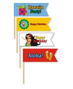 Prettyurparty Hawaiin Toothpicks- Multi Color