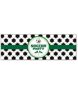 Prettyurparty Football Wrist Bands - Black and Green