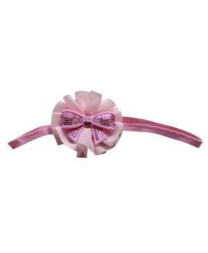 Little Cuddle Cute Bow Headband  - Light Pink
