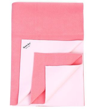 Quick Dry Bed Protector Double Bed Salmon Rose - XX Large