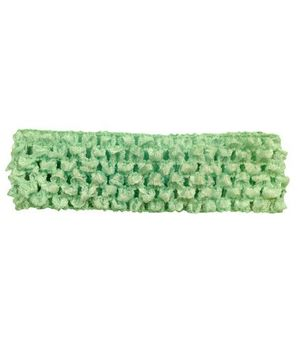 BabyZinnia Crochet Knitted Headband - Green