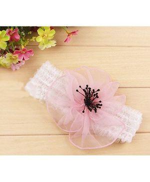 Akinos Kids Big Flower Petal Headband - Pink