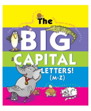 The Big Capital Letters M to Z - English