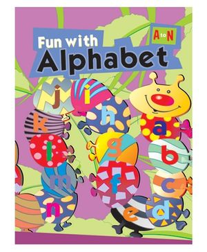 Fun With Capital Alphabet A to N - English