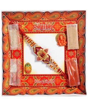 Rakhi - Shubh Om Gift Pack