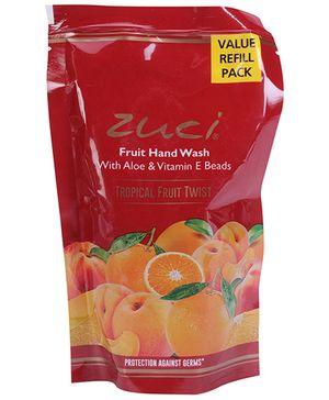 Zuci Tropical Fruit Twist Hand Wash Refill Pack - 185 ml