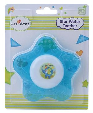 1st Step Water Filled Teether Star Shaped - Blue
