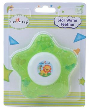 1st Step Water Filled Teether Star Shaped - Green