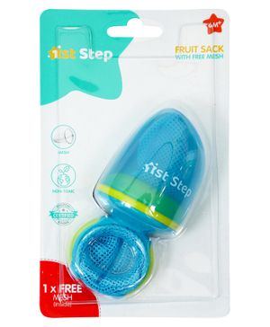 1st Step Fresh Food Feeder Fruit Sack - Blue