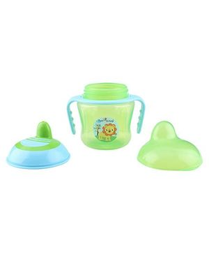 1st Step Two Handle Non Spill Sipper Cup - Green