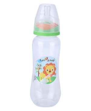 1st Step Feeding Bottle White and Green - 230 ml