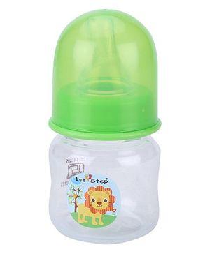 1st Step Feeding Bottle - White and Green