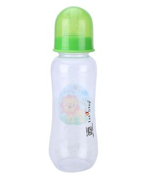 1st Step Feeding Bottle White and Green - 250 ml